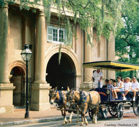 Charleston, SC carriage tour