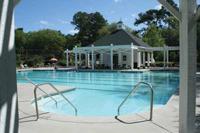 swimming pool in Legend Oaks Plantation