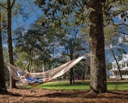 a hammock for a restful day at The Ponds in Summerville