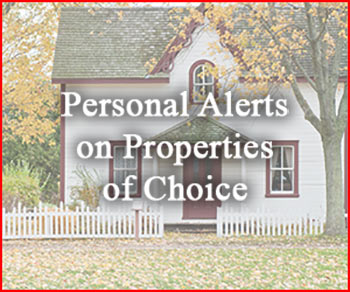 Get Free Property Alerts